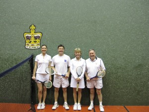 Queens Birthday doubles finalists